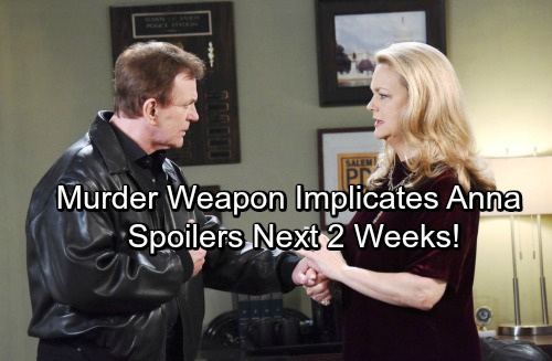 Days of Our Lives Spoilers for Next 2 Weeks: Andre's Funeral Shocker – Paul Suspects John – Murder Weapon Implicates Anna