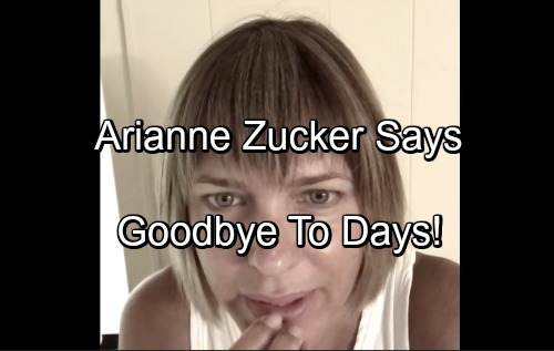 Days of Our Lives Spoilers: Arianne Zucker's Final Week On DOOL, Watch Her Emotional Video Goodbye