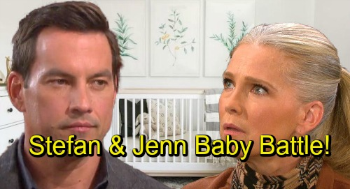 Days of Our Lives Spoilers: War Erupts Over Abigail's Baby - Jennifer and Stefan Fight For Custody of Newborn