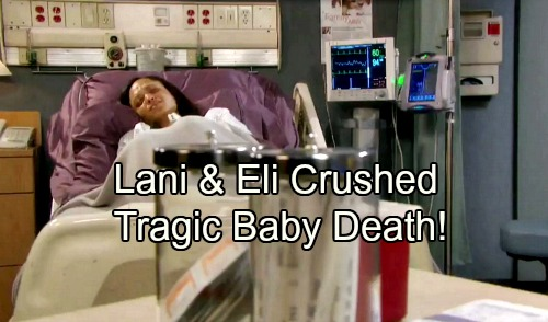 Days of Our Lives Spoilers: Lani and Eli Devastated by Baby's Death – DOOL Tragedy Rocks Salem