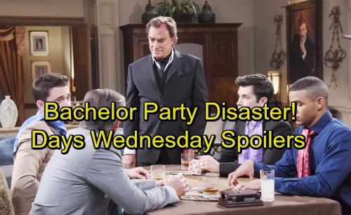 Days of Our Lives Spoilers: Wednesday, September 27 - Paul Gets a Sexy Cheating Offer – Andre's Bachelor Party Disaster