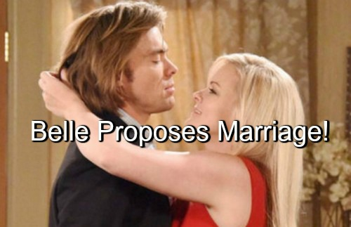 Days of Our Lives (DOOL) Spoilers: Belle Shocks Philip with Proposal - Wants Quickie Wedding in Vegas