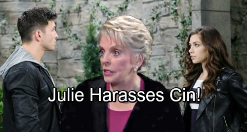 Days of Our Lives Spoilers: Ben and Ciara's Date Night Derailed – Outraged Julie Forces Surprising Change of Plans