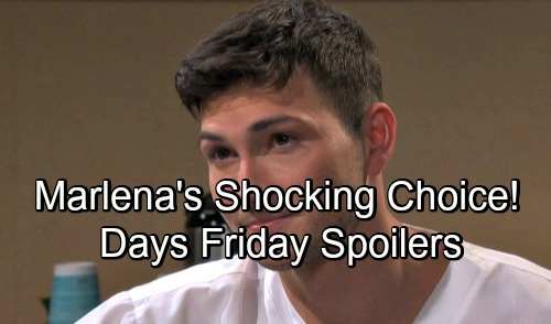 Days of Our Lives Spoilers: Friday, June 1 – Marlena Grills Ben, Decides His Fate – Theresa's Deception Stuns Brady