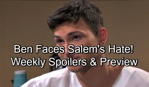 Days of Our Lives Spoilers: Week of May 28 – Cured Ben Seeks Redemption, Faces Salem's Hate – Kayla's Deadly Deal - Promo Video