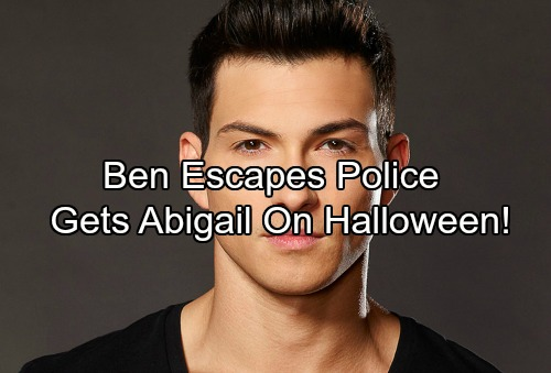 Days of Our Lives Spoilers: Ben Flees Police Custody – Haunts Abigail with Shocking Outcome