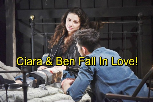 Days of Our Lives spoilers: Ben Opens Up, Connects With Ciara At The Cabin – A Relationship Blossoms