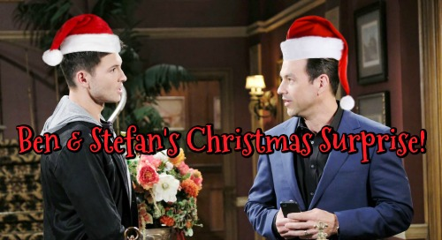Days of Our Lives Spoilers: Ben's Surprising Christmas Eve Buddy – Stefan's Holiday Heartbreak Leaves Him in Need of a Friend