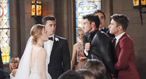 Days of Our Lives Spoilers: Monday, October 2 - Wedding Mayhem - Abigail Attacks Ben - Sonny Hears Will's Alive