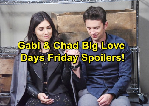 Days of Our Lives Spoilers: Gabi Confesses Deep Love for Chad – Dario Helps Abigail's Search, Abby Soon Heartbroken