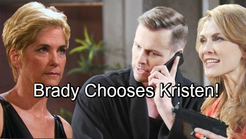 Days of Our Lives Spoilers: Brokenhearted Brady Drawn to Kristen – Eve's Betrayal Pushes Him Toward Dangerous Ex
