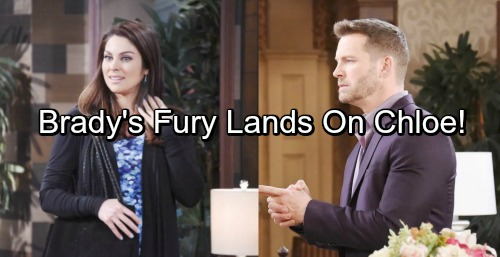 Days of Our Lives Spoilers: Chloe's Sneaky Move Enrages Julie, Fight Breaks Out – Brady's Fury Creates Another Jam