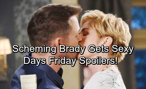 Days of Our Lives Spoilers: Friday, December 22 - Scheming Brady Kisses Eve – Lani and Eli Heat Things Up