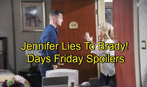 Days of Our Lives Spoilers: Friday, August 3 – Ted's Scheme Shocks Will and Sonny – Eric Surprises Marlena – Jennifer Deceives Brady