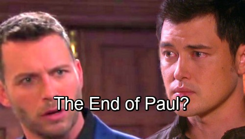 Days of Our Lives Spoilers: Paul's Mission To Save Brady Takes A Horrific Turn - The End of Paul?