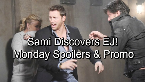 Days of Our Lives Spoilers: Monday, October 22 – Sami Discovers EJ – Fire Leaves Nicole with No Hope – Brady's Desperate Move