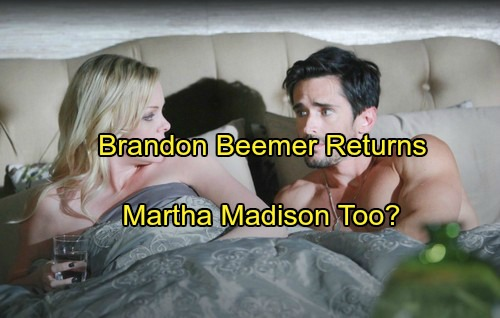 Days of Our Lives (DOOL) Spoilers: Contract Mistake Puts Brandon Beemer Back in Salem – Martha Madison Staying as Well?