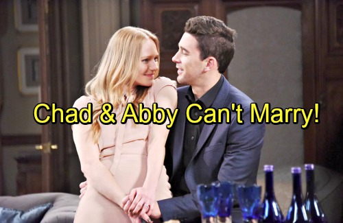 Days of Our Lives Spoilers: Chad and Abigail Race to Find Dario, Legal Troubles Threaten Wedding