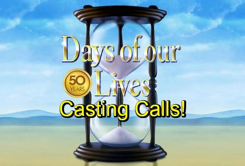 'Days of Our Lives' Spoilers: Four New Casting Calls – DOOL Adds Con Artist, Menacing Baddie, Loafer and Eastern European