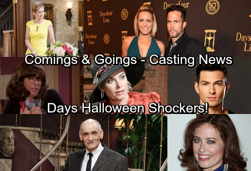 Days of Our Lives Spoilers: Castings News – Comings and Goings – Big Returns Shake Things Up – Salem Shockers Ahead