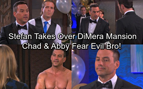 Days of Our Lives Spoilers: Stefan Takes Charge at DiMera Mansion – Chad and Abigail Shocked By Brother's Evil Plots