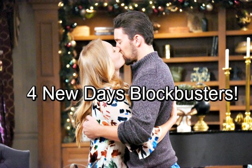 Days of Our Lives Spoilers: 4 Major DOOL Bombshells – 2017 Goes Out with a Bang