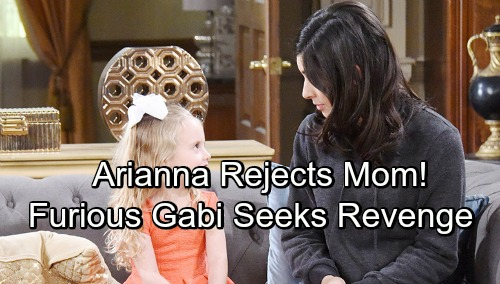 Days of Our Lives Spoilers – Gabi's Homecoming Disaster - Rejected By Arianna, Furious Mom Seeks Revenge