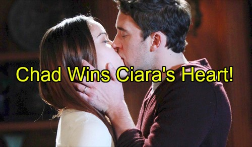'Days of Our Lives' Spoilers: Chad Captures Ciara's Heart, Obsession Grows - Theo Pushed Aside, Claire Swoops In
