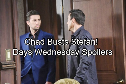 Days of Our Lives Spoilers: Wednesday, March 14 – Abigail Consults Kayla – Stefan Stuns Vivian – Chad's Plan Pays Off