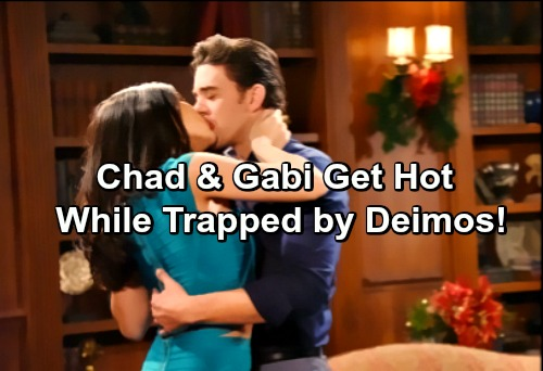 Days of Our Lives Spoilers: Chad and Gabi Stir Up Hot Romance While Trapped By Deimos