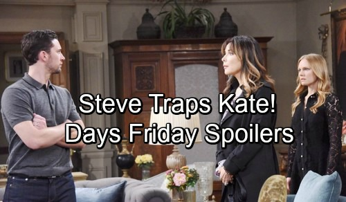 Days of Our Lives Spoilers: Steve's Sneaky Strategy – JJ's Fate Is Sealed – Theo's Spe