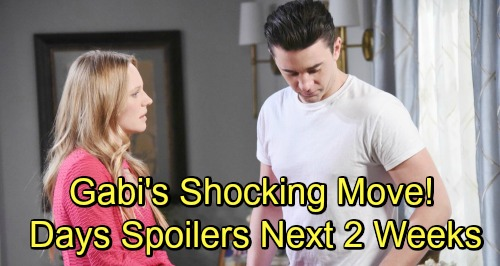Days of Our Lives Spoilers Next 2 Weeks: Kate Holds Ted at Gunpoint – Paul Accuses Will of Cheating – Gabi Stirs the Chabby Pot