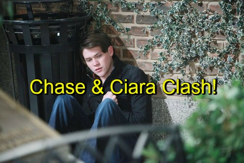 Days of Our Lives (DOOL) Spoilers: Ciara and Chase Clash – Tries to Move On, Shares Steamy Kiss with Theo