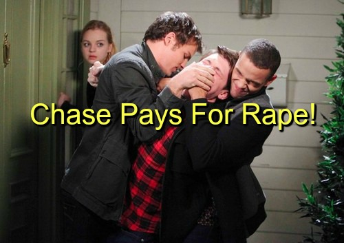 Days of Our Lives (DOOL) Spoilers: Theo and Joey Capture Chase - Ciara Rips Into Rapist