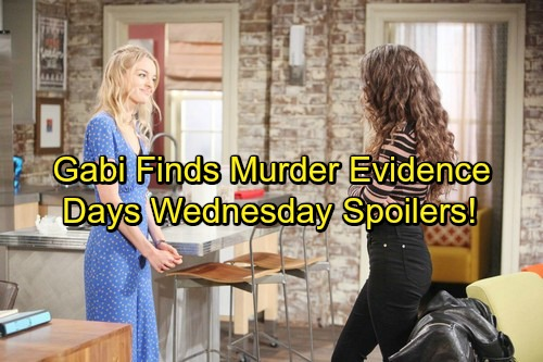 Days of Our Lives Spoilers: Wednesday, March 7 – Gabi's Murder Evidence Discovery - Chad Misses The Danger – Hope's Huge Choice