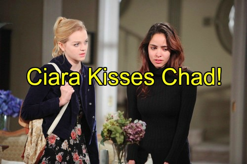 Days of Our Lives (DOOL) Spoilers: Ciara Kisses Chad in Romantic Dream – Dangerous Bond as Ciara Helps Chad With Abby Crisis