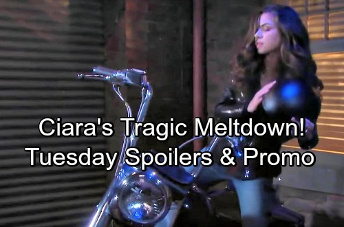 Days of Our Lives Spoilers: Tuesday, June 5 – Theresa Gets a Startling Offer – Ciara's Meltdown – Leo's Lawyer Plays Dirty