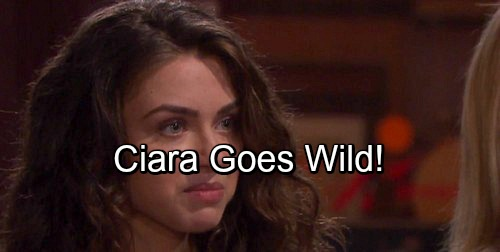 Days of Our Lives Spoilers: Rebellious Ciara Goes Wild, Hope Can't Control Daughter – Claire Terrified
