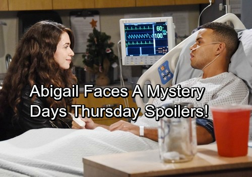 Days of Our Lives Spoilers: Thursday, December 28 - Shelle's Sad Sendoff – Hope Reinstated – Abigail Ponders a Big Mystery
