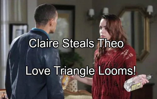 'Days of Our Lives' Spoilers: Claire Teaches Theo How to Love Again – Ciara Comes Crawling Back - Teen Heartbreak Triangle
