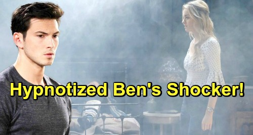 Days of Our Lives Spoilers: Ben Goes Under Hypnosis Again - Remembers Shocking Clue About Cabin Fire