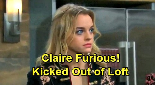 Days of Our Lives Spoilers: Claire Forced To Move Out Of Loft - Furious As Haley & Tripp Get Closer
