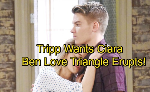 Days of Our Lives Spoilers: Tripp Races to Injured Ciara's Side, But Mission's Derailed – Love Triangle With Ben Begins