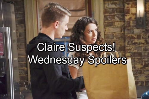 Days of Our Lives Spoilers: Wednesday, February 7 - Eli Shocked by Baby Revelation – Claire Suspects Ciara and Tripp