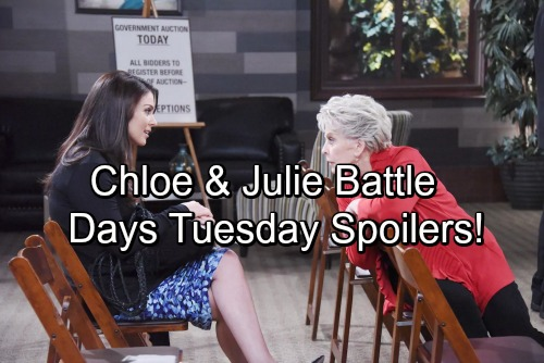 Days of Our Lives Spoilers: Tuesday, September 19 - Chloe and Julie Go to War – Abe's Shocking Request