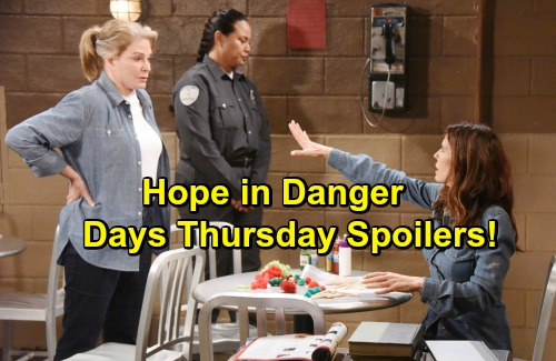 Days of Our Lives Spoilers: Danger Looms for Hope – Jennifer and JJ Get a Shock – Andre Shares Big News with Chad