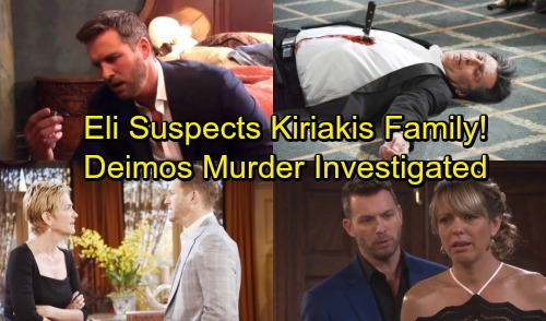 Days of Our Lives Spoilers: Brady Panics as Eli's Suspicions Grow – Deimos' Murder Investigation Spells Trouble
