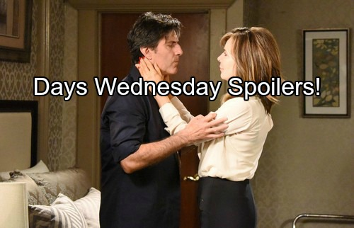 'Days of Our Lives' Spoilers: Deimos Appears, Roman Demands Explanation for Murder Chaos – Chloe's Future in Philip's Hands