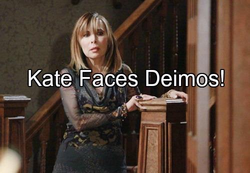 'Days of Our Lives' Spoilers: Kate Battles Terror as Deimos Makes Triumphant Return – Desire for Nicole Sways Deimos' Plan
