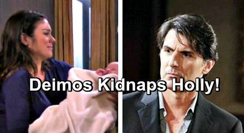 Days of Our Lives Spoilers: Deimos Plans Baby Holly's Kidnapping, Desperate Move To Win Back Nicole